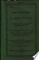 An Encyclopaedia of Gardening. [A prospectus.]