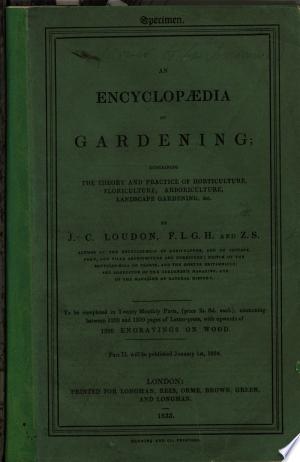 An+Encyclopaedia+of+Gardening.+%5BA+prospectus.%5D