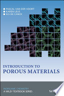 Introduction to Porous Materials Book