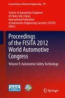 Proceedings of the FISITA 2012 World Automotive Congress [Pdf/ePub] eBook