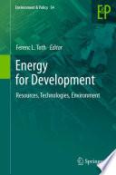 Energy for Development Book