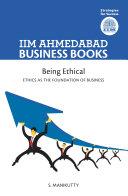 IIMA - Being Ethical