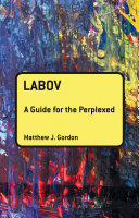 Labov  A Guide for the Perplexed