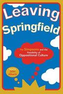 Leaving Springfield