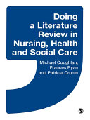 Doing a Literature Review in Nursing, Health and Social Care