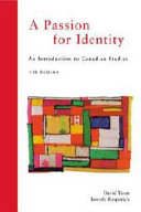 A Passion for Identity Book