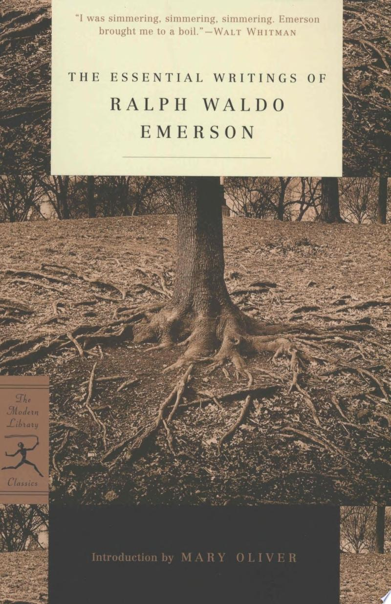 The Essential Writings of Ralph Waldo Emerson banner backdrop