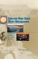 Colorado River Basin Water Management:
