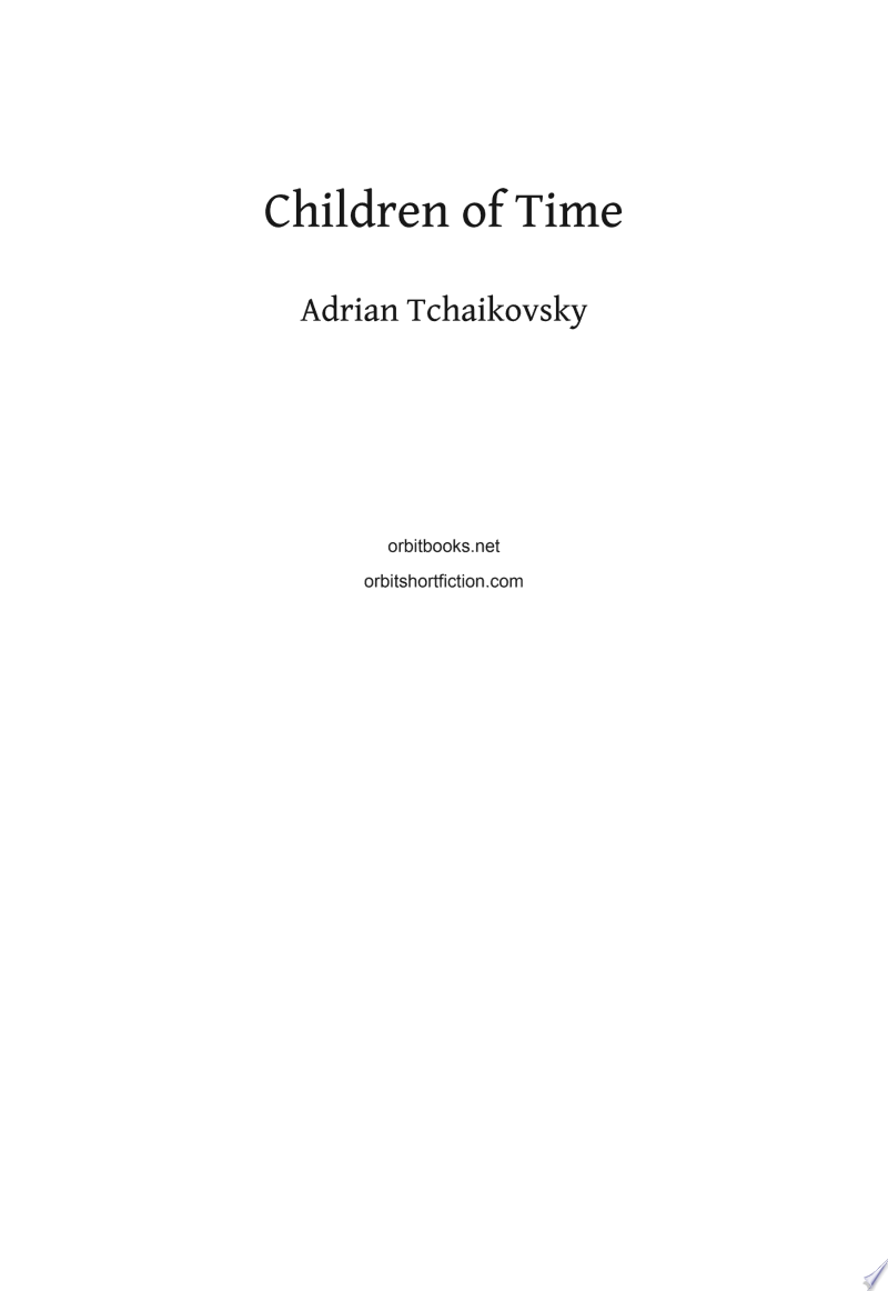 Children of Time image