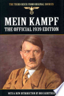 Mein Kampf  : The Official 1939 Edition