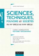 Pdf Sciences, techniques, pouvoirs et sociétés du XVe siècle au XVIIIe siècle Telecharger