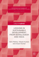 Lessons in Sustainable Development from Bangladesh and India