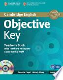 Objective Key Teacher S Book With Teacher S Resources Audio Cd Cd Rom