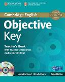 Objective Key Teacher's Book with Teacher's Resources Audio CD/CD-ROM