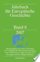 Jahrbuch für Europäische Geschichte 2007