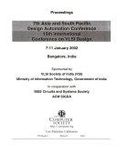 Proceedings of ASP DAC VLSI Design 2002
