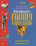 Videohound s Family Video Guide Book