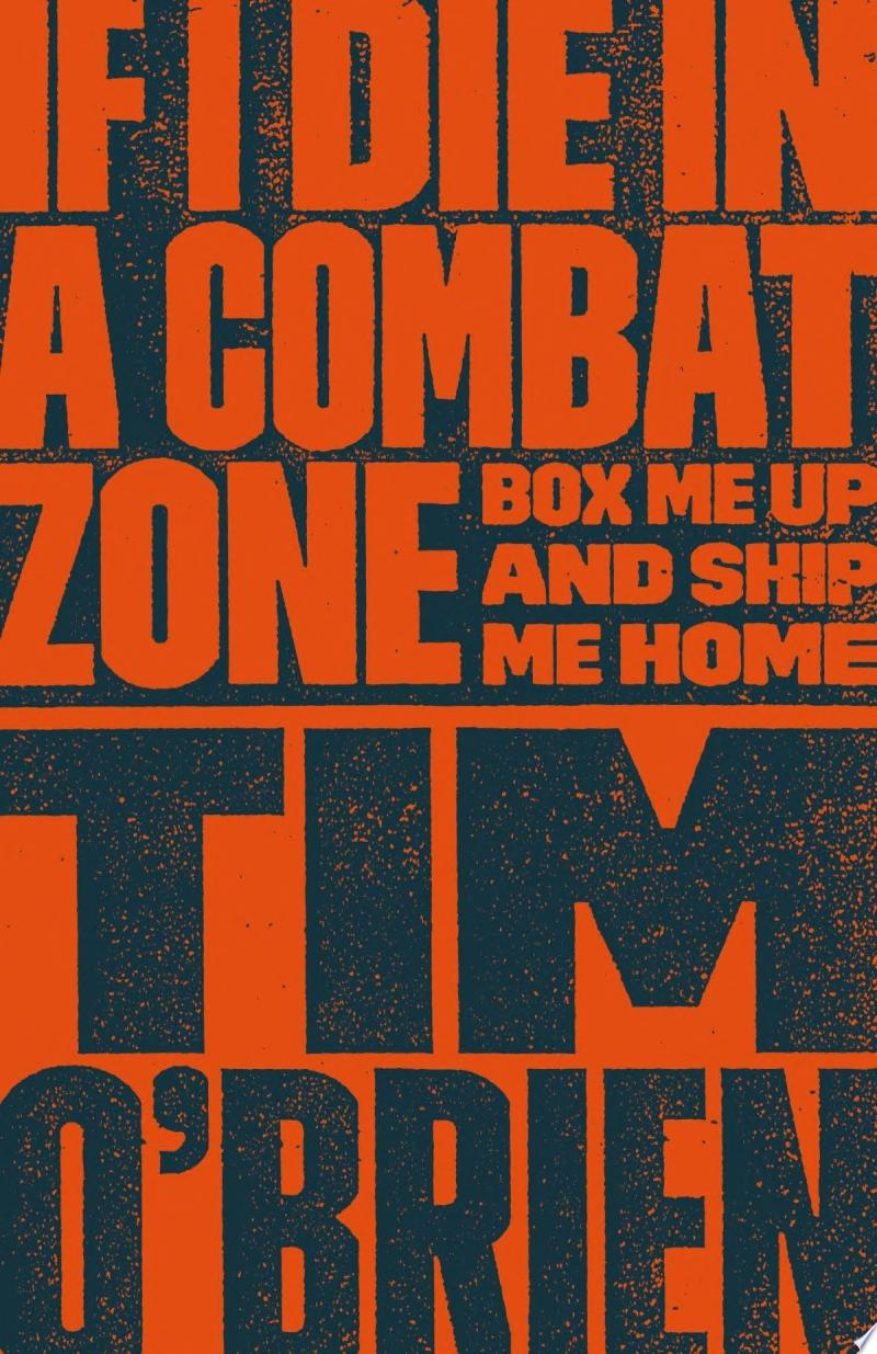 If I Die in a Combat Zone poster