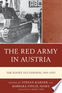 The Red Army in Austria Book