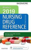 Cover of Mosby's 2019 Nursing Drug Reference