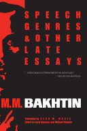Speech Genres and Other Late Essays [Pdf/ePub] eBook