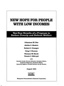 New Hope for People with Low Incomes Book PDF
