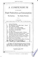 A Compendium of the World s Food Production and Consumption