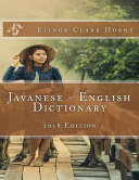 Pdf Javanese - English Dictionary