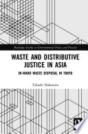 Waste and Distributive Justice in Asia Book PDF