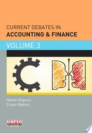 Current Debates in Accounting & Finance