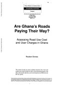 Are Ghana s Roads Paying Their Way