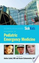 Hospital For Sick Children Handbook Of Pediatric Emergency Medicine Book PDF