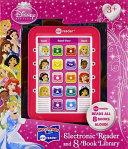 Disney Princess Me Reader Electronic Reader and 8 Book Library Book