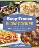 Easy Freeze Slow Cooker Cookbook