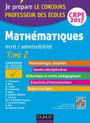 Mathématiques - Professeur des écoles - Ecrit, admissibilité - T2 - CRPE 2017