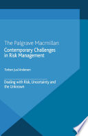Contemporary Challenges in Risk Management