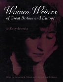 Pdf Women Writers of Great Britain and Europe Telecharger