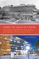 Toward the Health of a Nation Pdf/ePub eBook