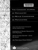 Canadian Journal of Psychiatry Book