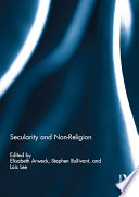 Secularity and Non Religion