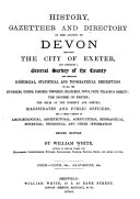 History, Gazetteer and Directory of the County of Devon