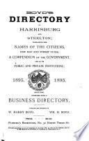 Polk s Greater Harrisburg     City Directory