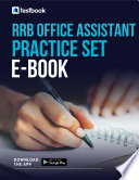 Rrb Office Assistant Practice Set 2021 Download Free Pdf Here