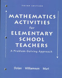 Mathematical Activities For Elementary School Teachers A Problem Solving Approach To Accompany Long And Detemple S Mathematical Reasoning For Elementary Teachers Book PDF