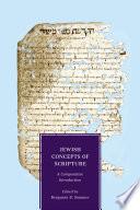Jewish Concepts Of Scripture