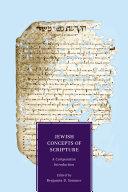 Jewish Concepts of Scripture Pdf/ePub eBook