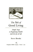 The Art of Good Living