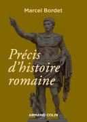 Pdf Précis d'histoire romaine - 3e éd. Telecharger