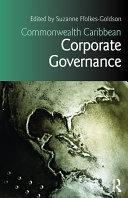 Commonwealth Caribbean Corporate Governance