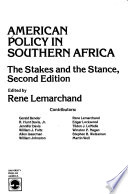 American Policy in Southern Africa